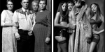 Polygamist vs. Pimp - parallel portraits of cultural differences in the USA by Mark Laita