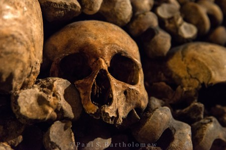 Catacombs of Paris, France – photos by Paul Bartholomew