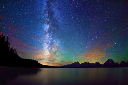 Night Scapes by Royce Bair: the Milky Way over the American desert
