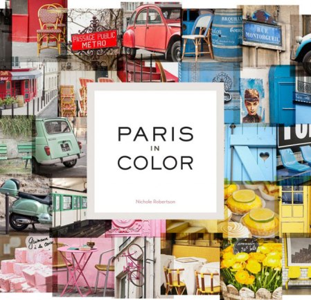 Paris as a colour palette – photos by Nichole Robertson
