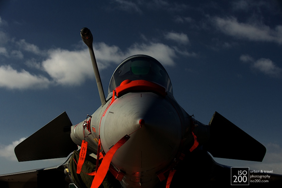 Dassault Rafale B on static display at the 2012 Diamond Jubilee Airshow, RAF Leuchars.