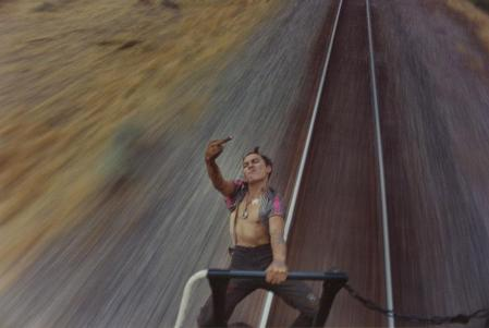 "Mike Brodie: ""A Period of Juvenile Prosperity"" documents life as a freight train hopper"