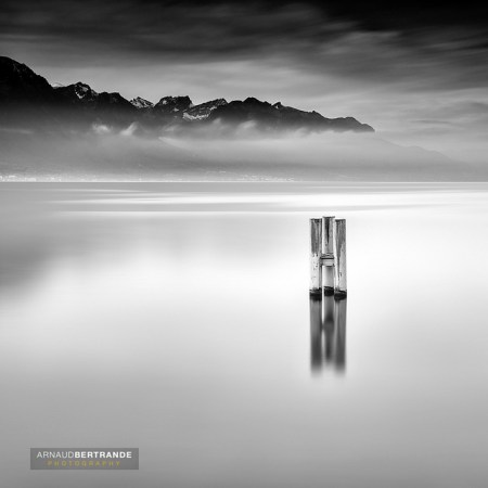 Black and white long exposure photography by Arnaud Bertrande