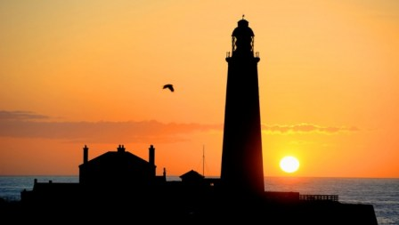 St Mary's Island Lighthouse – in pictures