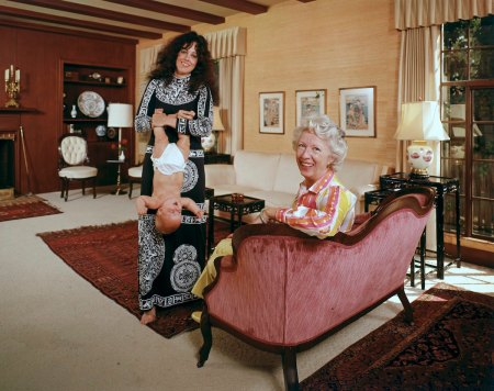 10 iconic rock stars straight chillin' with their parents