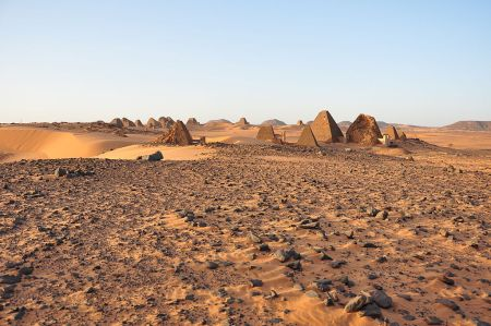 The Forgotten Pyramids of Meroë