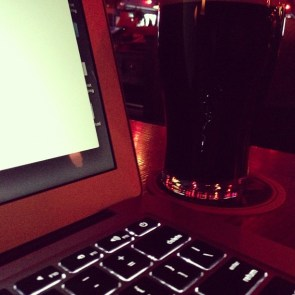 The writing and the beer. #wcyvr is coming...