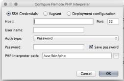 Configuring SSH Credentials