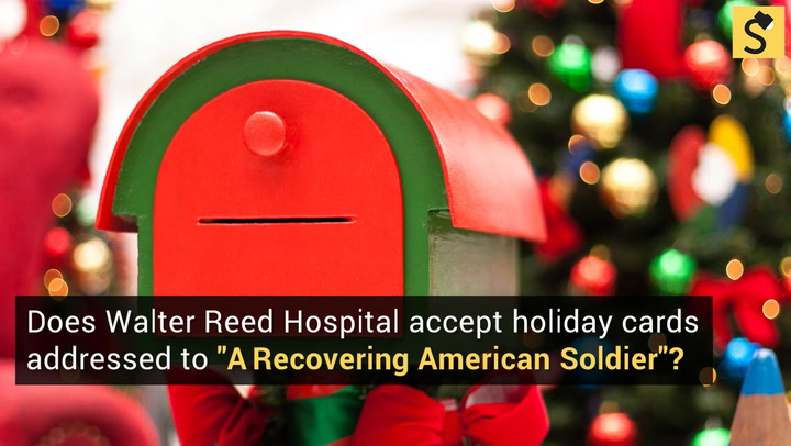 FACT CHECK Cards For Recovering Soldiers
