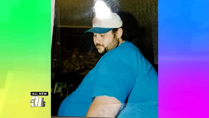 800-pound man