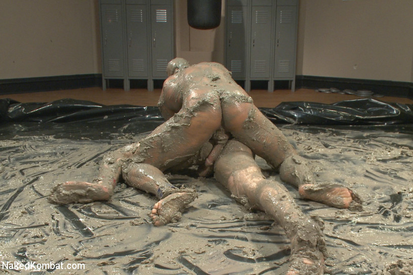 Top Cock: MUD WRESTLING! - humiliation