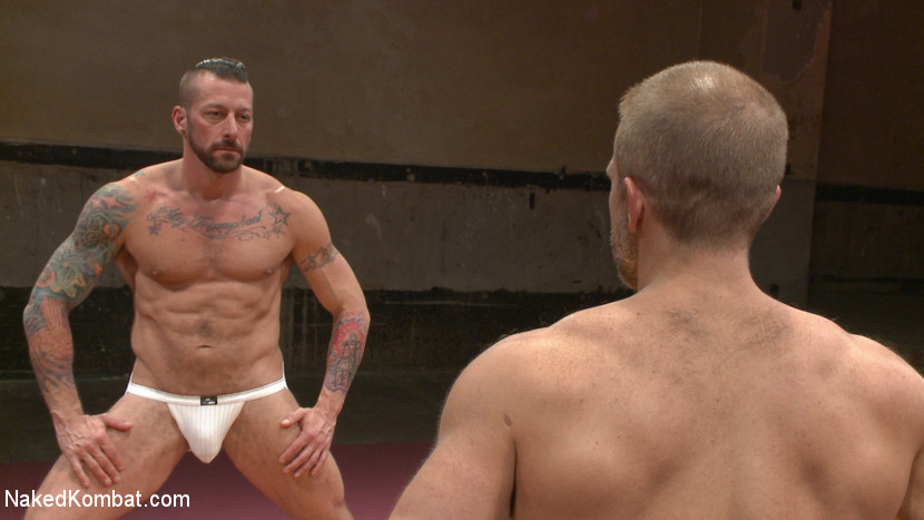Muscle Matchup - Dirk Caber vs Hugh Hunter - muscle