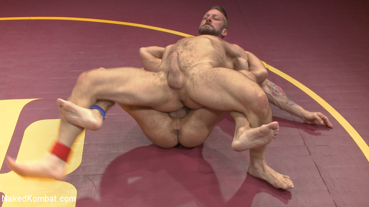 Muscle Matchup - Dirk Caber vs Hugh Hunter - jockstrap