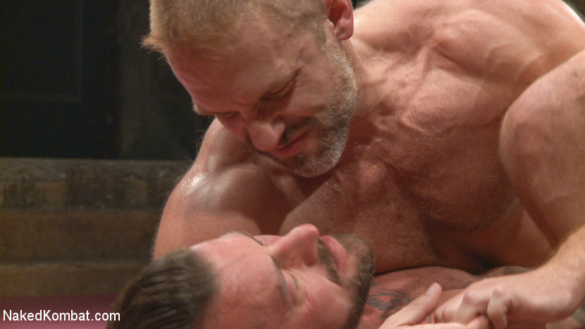 Muscle Matchup - Dirk Caber vs Hugh Hunter - submission