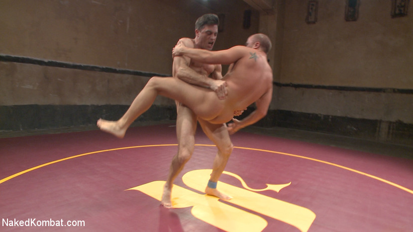 Lance Hart Tussles with Eli Hunter - domination