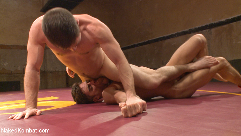 Lance Hart vs. Dylan Knight: Loser Gets a Wicked Wedgie and a Rough Fuck - Naked Kombat