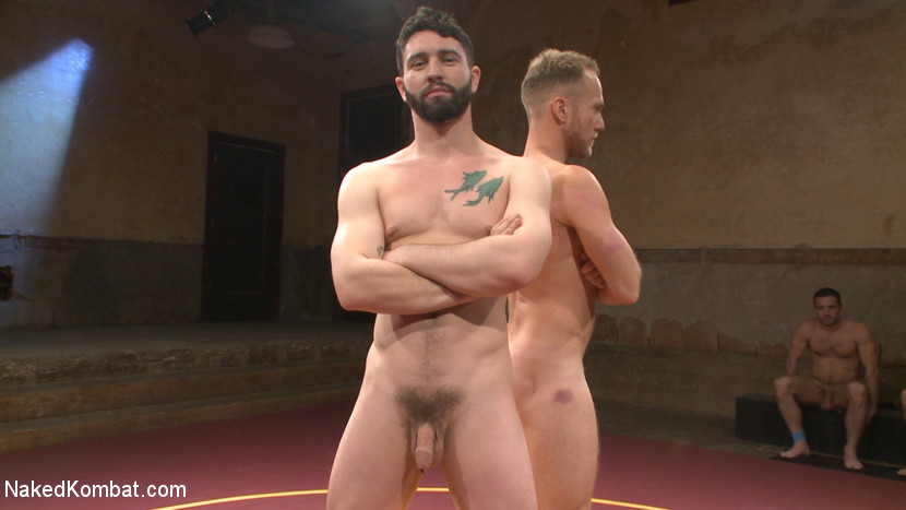 Chris Burke Goes Balls to the Wall with Jackson Fillmore - muscle