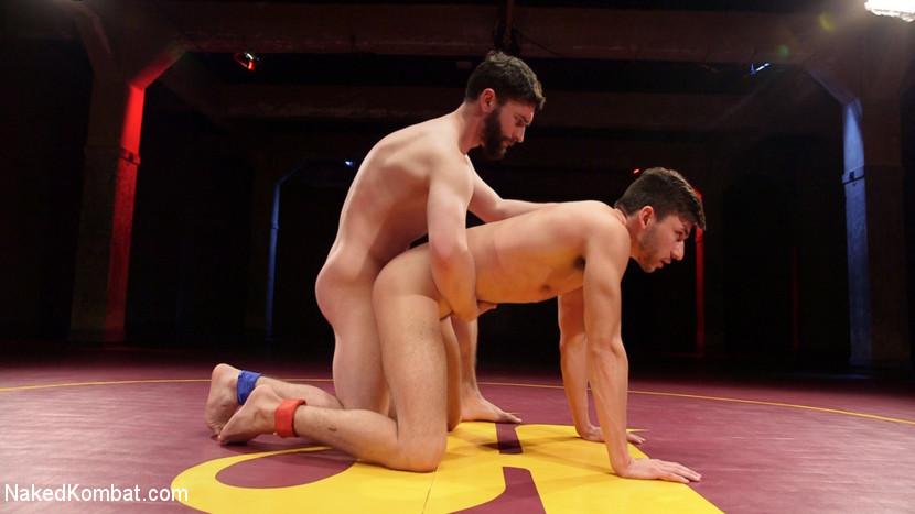 Boner Fight - Winner gets to fuck the loser - rimming