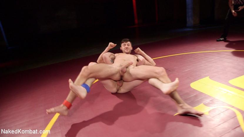 Boner Fight - Winner gets to fuck the loser - Naked Kombat