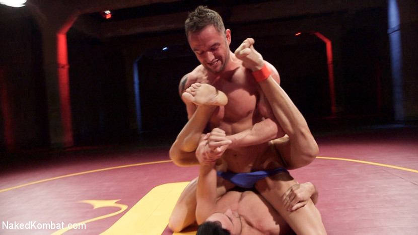Jason Styles vs. Josh Conners: Tall beefy studs slam on the mat - anal