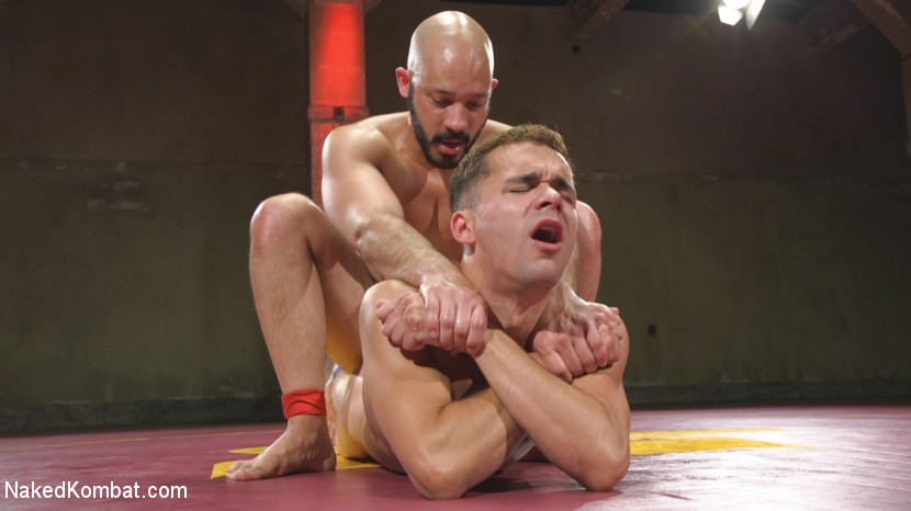 Hot Newcomer Max Woods takes on undefeated Dylan Strokes - blowjob