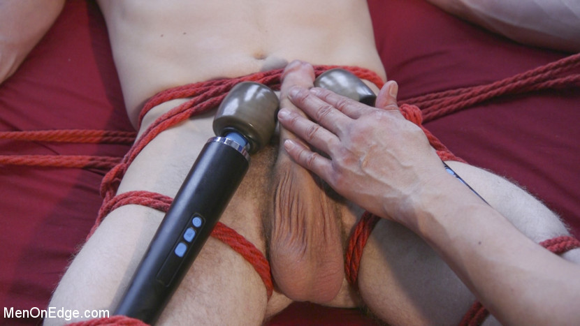 Men-on-Edgers Sebastian and Jackson Get Edged! - Edging
