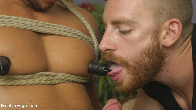 Edging Straight Boy Until He Busts a Nut Hands-Free - tickling