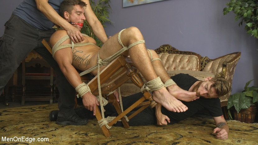 Edging Straight Boy Until He Busts a Nut Hands-Free - Edging