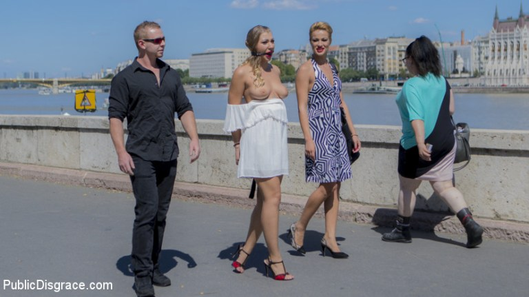 सेक्सी सर्बियाई विनम्र गुदा फूहड़ हवा हिल - सार्वजनिक अपमान