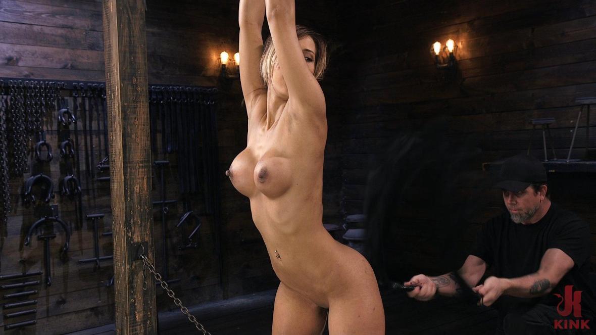 丰满的拉丁妓女在痛苦的束缚中折磨 - 扭结BDSM
