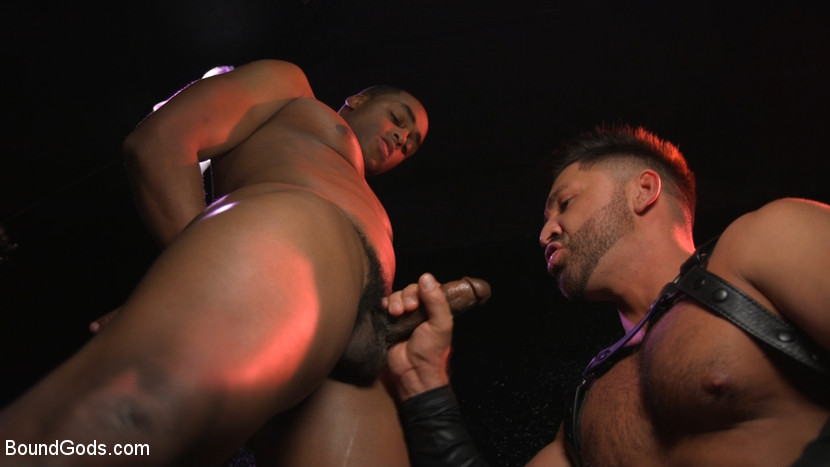New meat Alson Caramel fisted and fucked for HustlaBall! - Corporal Punishment