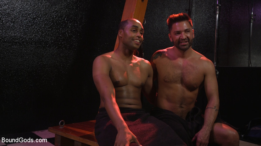 New meat Alson Caramel fisted and fucked for HustlaBall! - leather