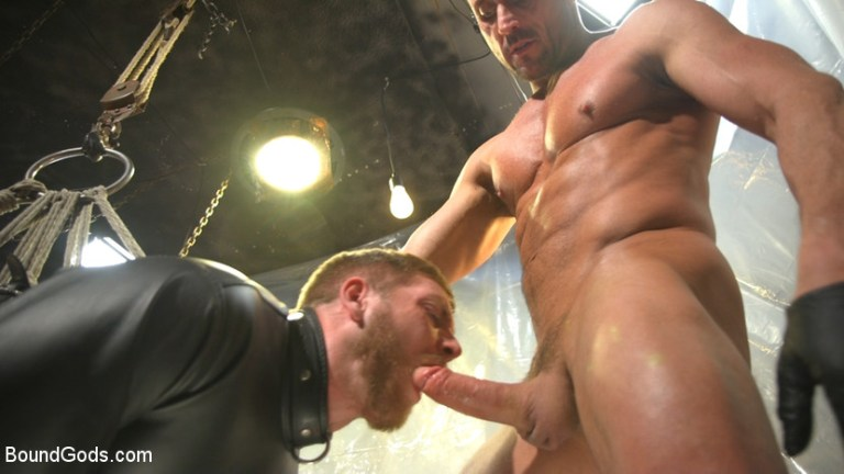 स्कॉट Riley उनके गधे के साथ अपने ऋण देता है - बीडीएसएम