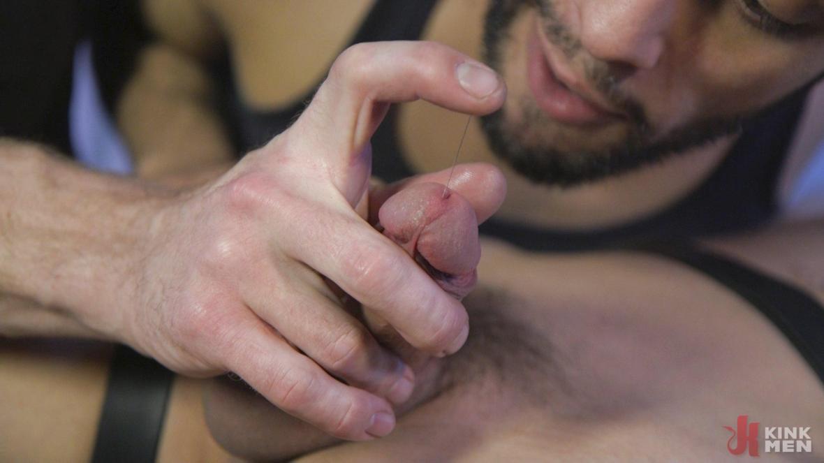 Мышцы красавчик Джош Хантер обрезная в пленении - Мужчина Sub