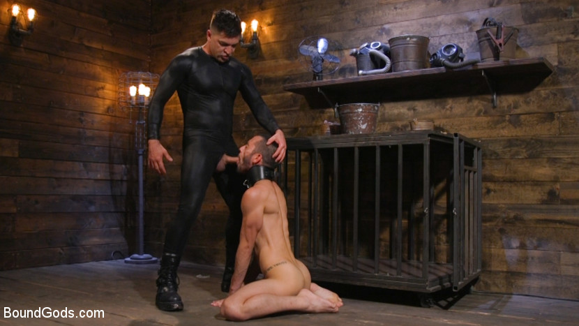 Dominic Pacifico and Chance Summerlin: Serve and Submit - blowjob