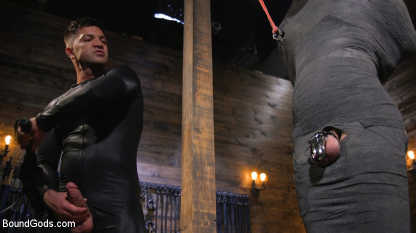 Dominic Pacifico and Chance Summerlin: Serve and Submit - leather