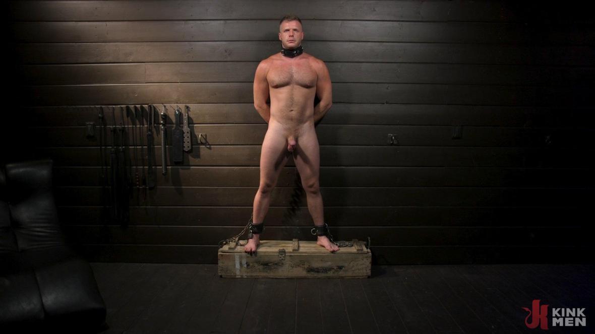 The Good Slave: Tough built boy Brian Bonds returns - bondage