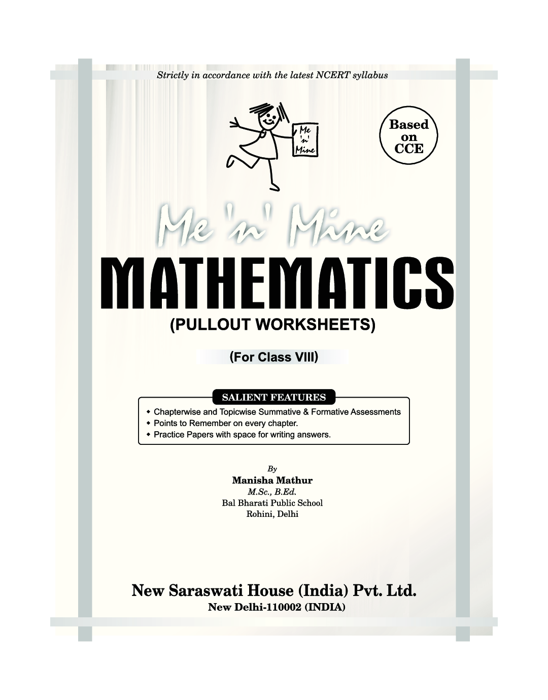 Download Me N Mine Mathematics For Class Viii Cbse