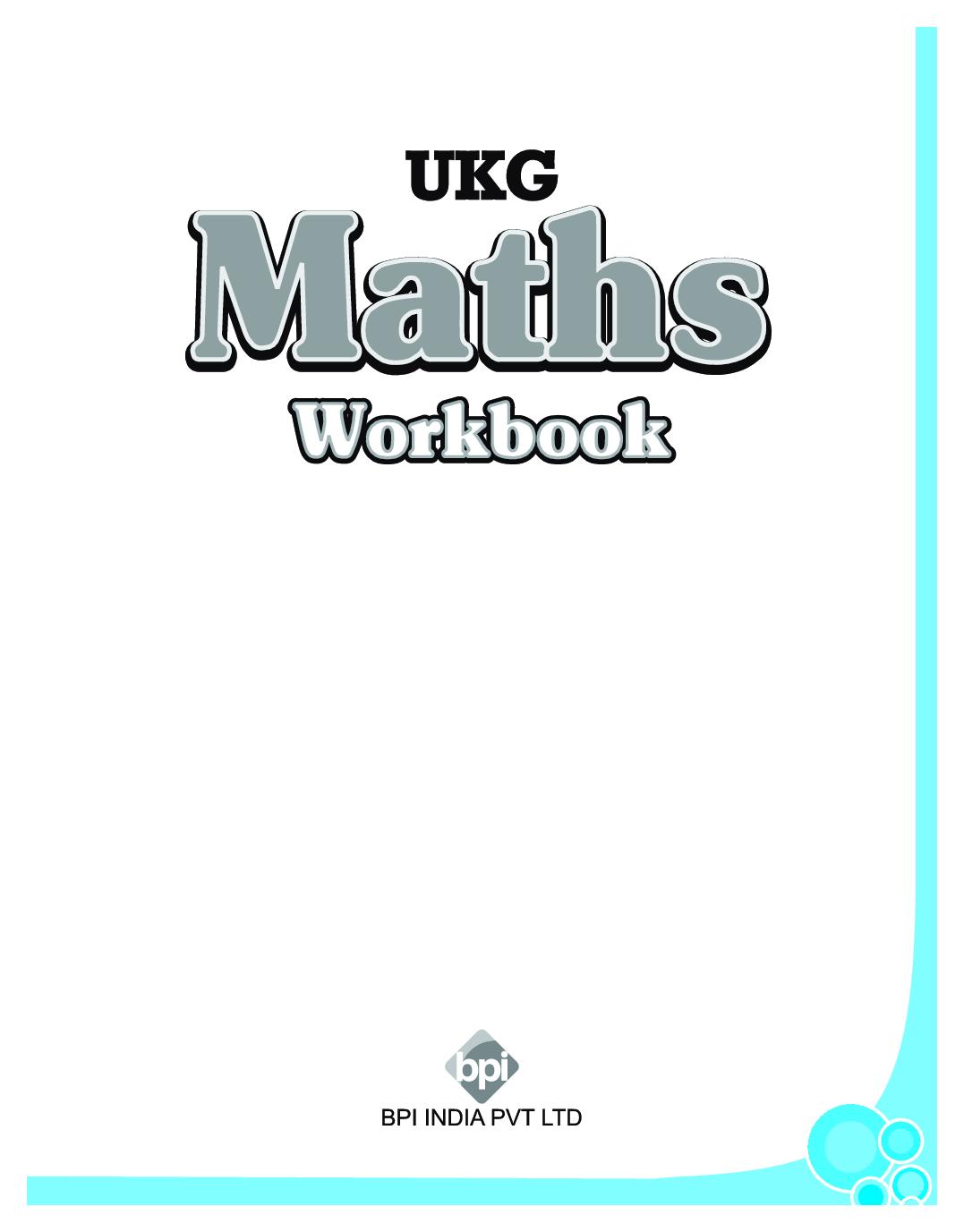 Download Ukg Maths Workbook By Bpi Online