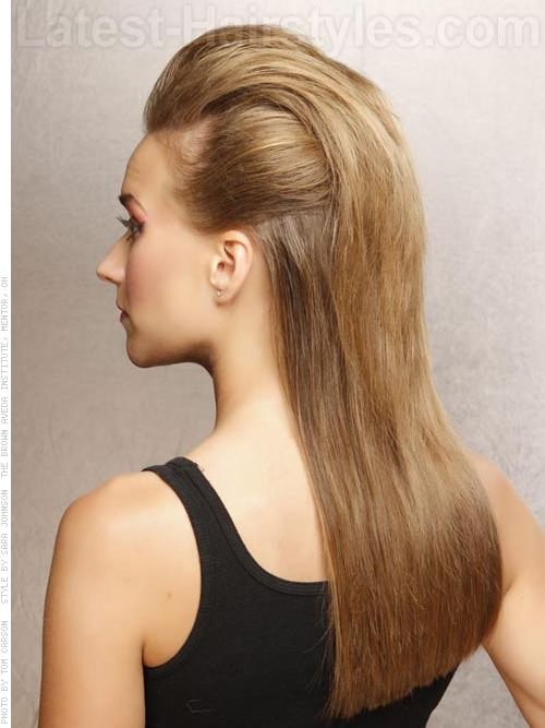 Totally Modern Mohawk Easy Prom Hairstyle