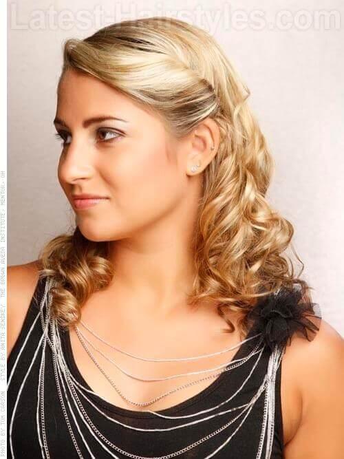 The Prettiest Half Up Half Down Wedding Hairstyles Weve