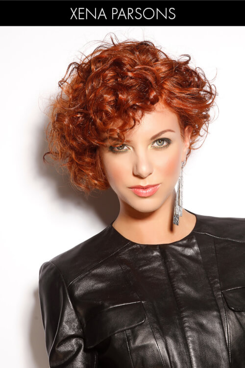 Short Curly Hairstyle for Winter