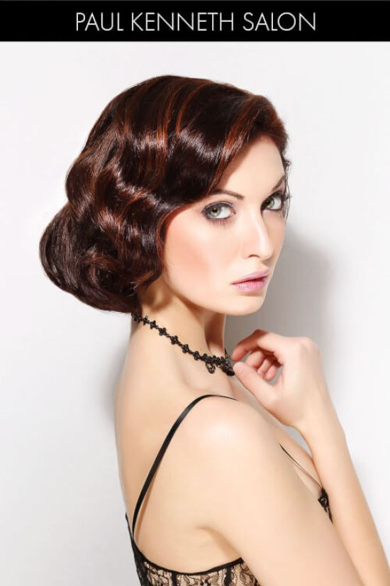 Glamorous Spring Hairstyle with Fingerwaves