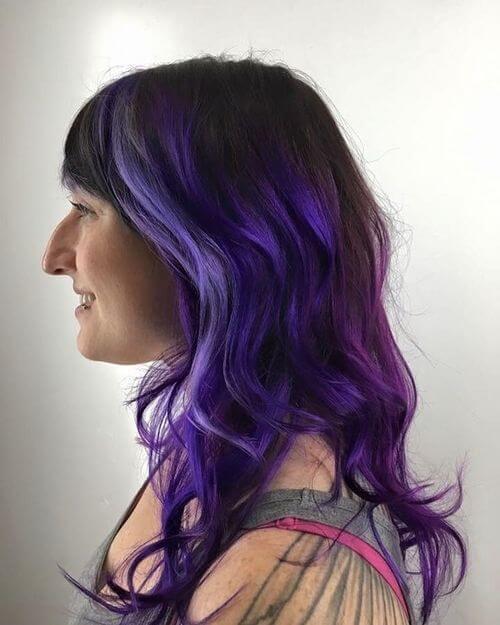 24 Incredible Purple Hair Color Ideas Trending In 2019