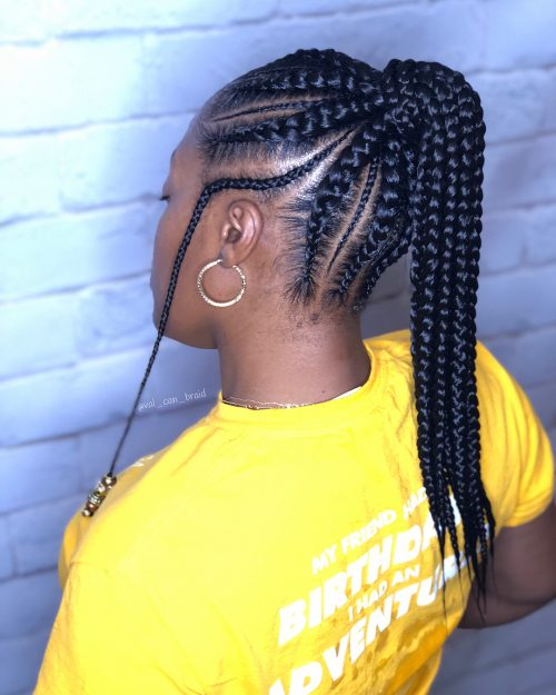 29 New Feed In Braids For 2019 2 3 4 5 Amp 6 Strands