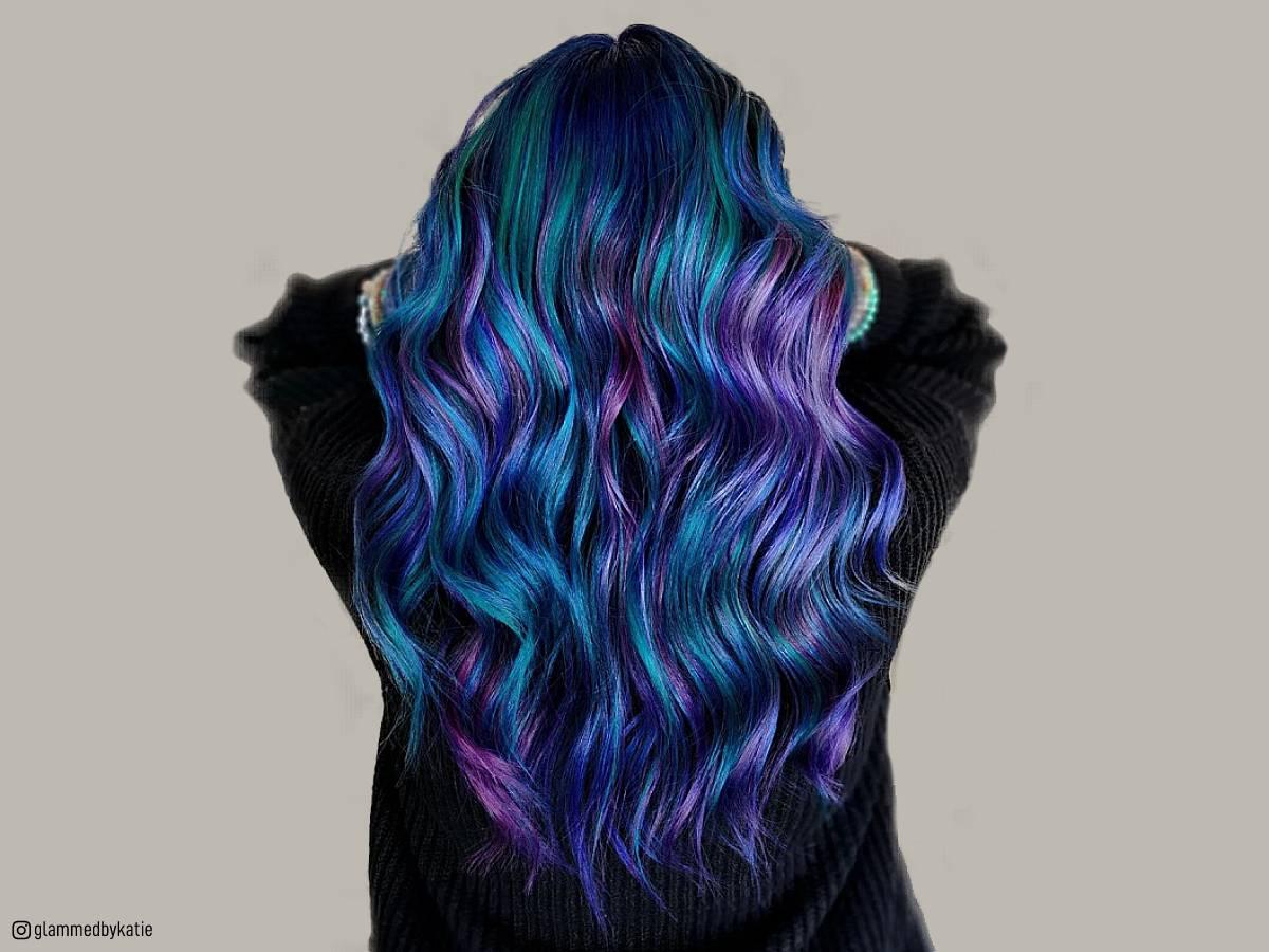 23 Incredible Galaxy Hair Color Ideas Of 2019