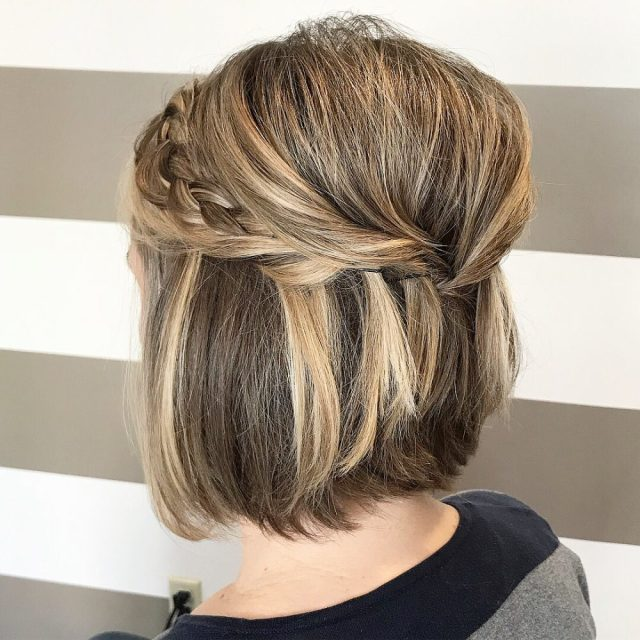 28 gorgeous wedding hairstyles for short hair in 2019
