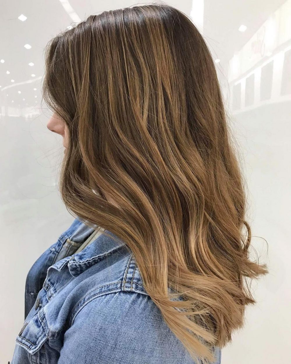 Dark Brown And Light Brown Hair