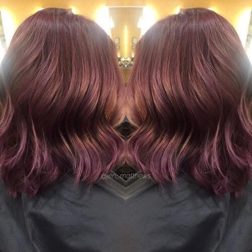 35 Best Burgundy Hair Ideas Of 2018 Yummy Wine Colors