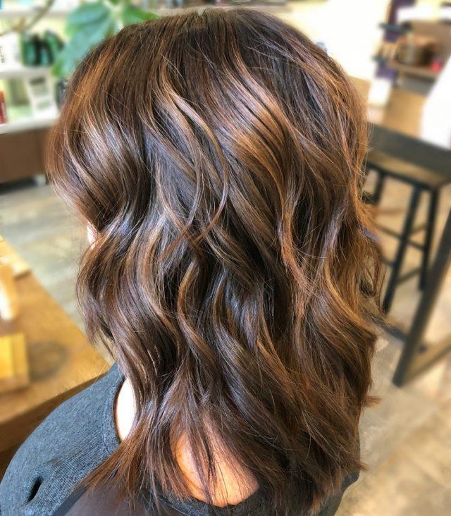 34 sweetest caramel highlights on light to dark brown hair